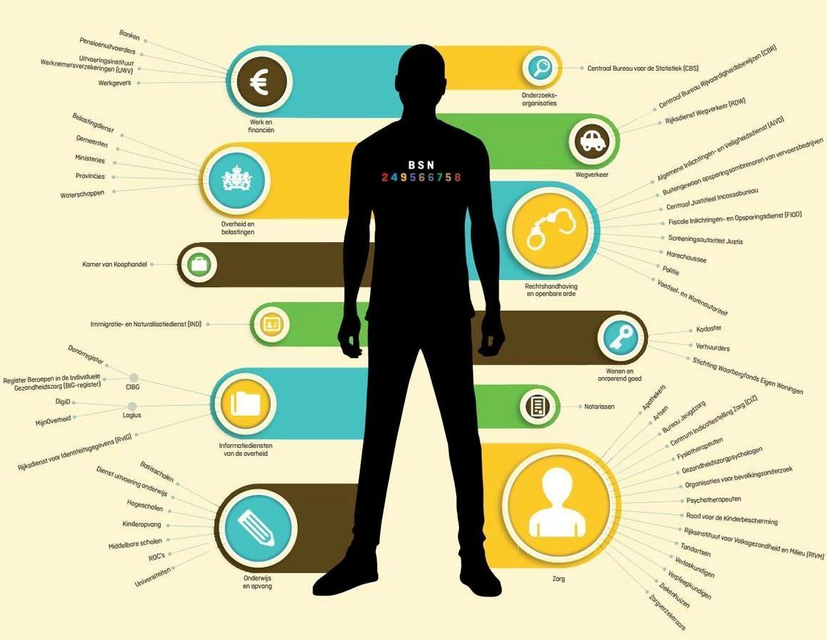 BSN gebruikers Infografiek WEB