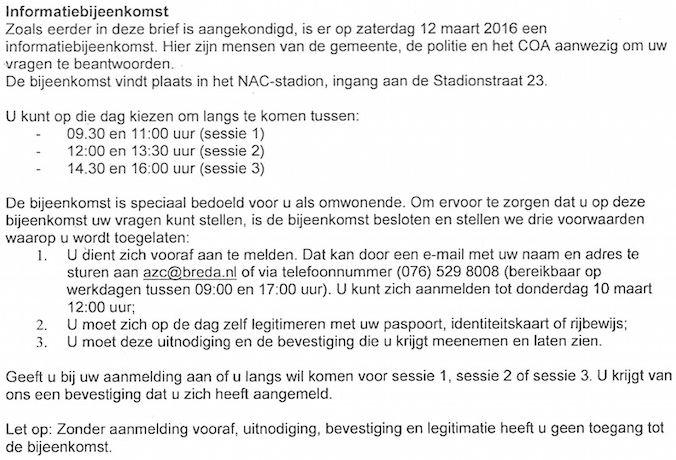 IDPlicht InfoSessies AZC Breda